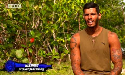 Survivor 2: Ο Αγόρου τα «χώνει» στον Ηλία «Δεν μπορώ να τον βλέπω να πλευρίζει κάποιους»