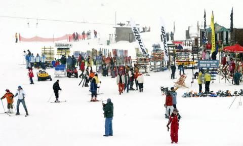 Δράμα: Μεγάλη η επισκεψιμότητα στο χιονοδρομικό Φαλακρού