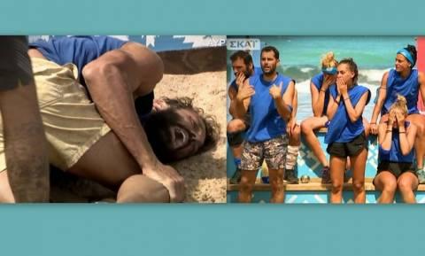 Survivor 2: Το σοκ των παικτών όταν Μαχητής τραυματίζεται σοβαρά