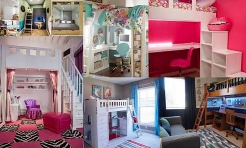 Μικρό παιδικό δωμάτιο; Έτσι θα εξοικονομήσετε χώρο (εικόνες)