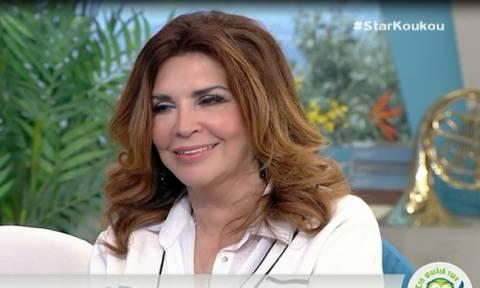 Μιμή Ντενίση: Η αντίδρασή της on air όταν ρωτήθηκε για τη σχέση της με τον Γιάννη Λάτσιο