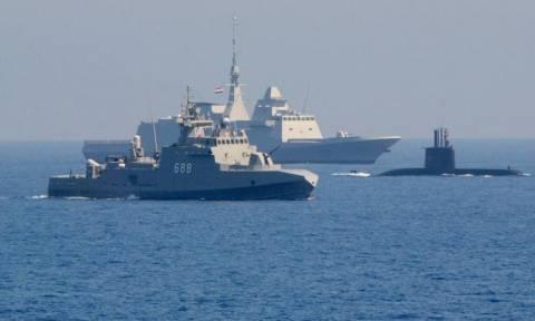 Παίρνει «φωτιά» η Μεσόγειος: Σε θέση μάχης το ΠΝ της Αιγύπτου απέναντι από τον τουρκικό στόλο