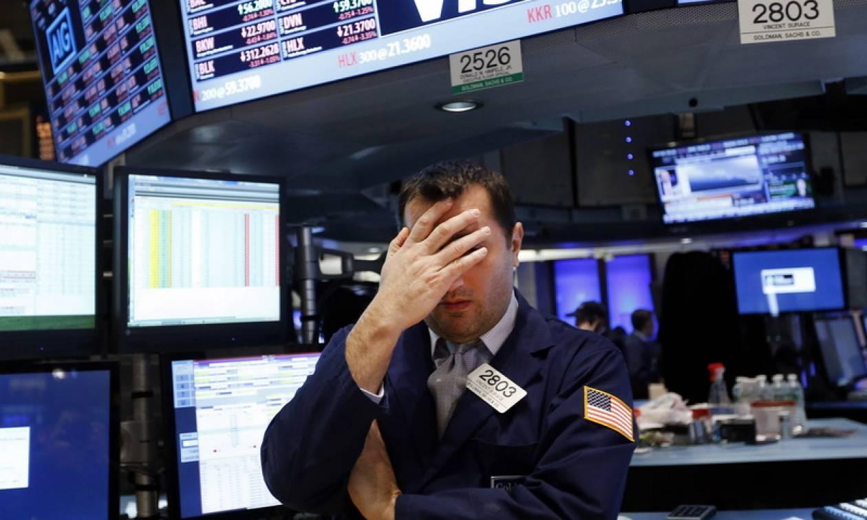 Τα πρακτικά της Fed έφεραν καθίζηση στη Wall Street