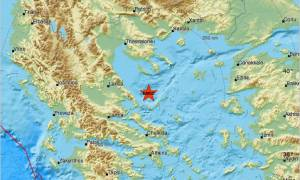 Σεισμός κοντά στη Σκιάθο και τη Σκόπελο