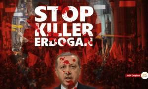Λογοκρισία Ερντογάν στο ελληνικό Facebook: Έκλεισε τη σελίδα Έλληνα γραφίστα για αυτή τη φωτογραφία