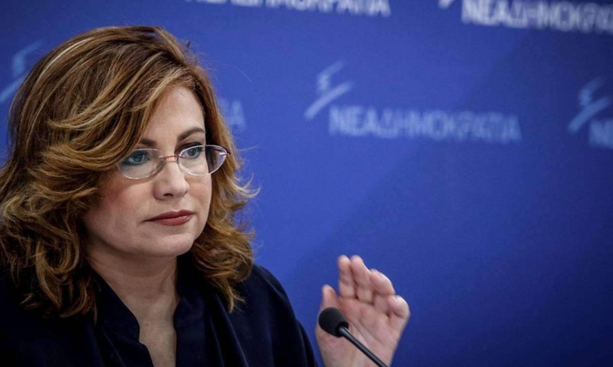 Προανακριτική Novartis: Σπυράκη - «Βατερλώ» για την κυβέρνηση η συζήτηση στη Βουλή