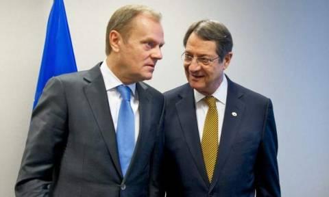 Τουσκ σε Αναστασιάδη: Η ΕΕ πρέπει να αντιδράσει στις τουρκικές προκλήσεις