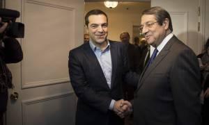 Οι εξελίξεις στην κυπριακή ΑΟΖ στο επίκεντρο της συνάντησης Τσίπρα-Αναστασιάδη