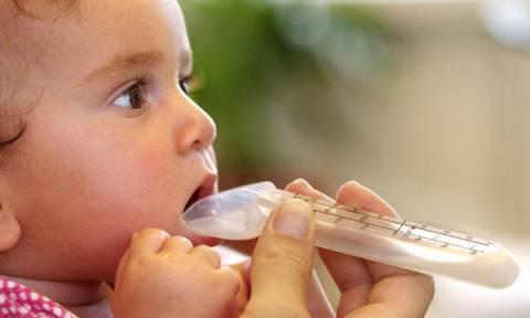 Πώς να δώσετε αντιβίωση σε μωρό έως ενός έτους, με κουτάλι, σύριγγα ή σταγονόμετρο;