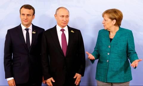 Μακρόν και Μέρκελ απευθύνουν έκκληση στον Πούτιν – Ζητούν άμεση τηλεφωνική επικοινωνία
