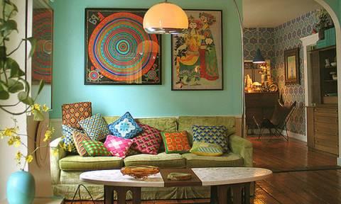 Εικοσιπέντε ιδέες για boho διακόσμηση στο σπίτι σας