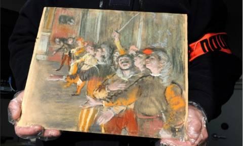 Μυστήριο: Διάσημος πίνακας του Ντεγκά ανακαλύφθηκε σε μπαγκαζιέρα λεωφορείου (Vid)