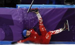 Χειμερινοί Ολυμπιακοί Αγώνες: Ουπς! Αυτό πρέπει να πόνεσε!