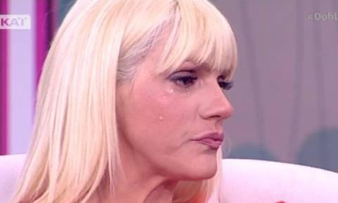 Τα δάκρυα της Σάσας Σταμάτη on air – Τι της συνέβη;