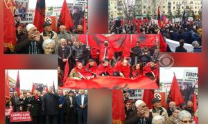 Αλβανία: Προκλητική συγκέντρωση κατά της Ελλάδας – Ύβρεις κατά Παυλόπουλου, Κοτζιά