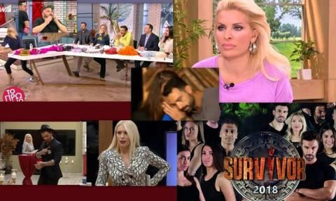 Το ατύχημα της Σκορδά on air και οι δύο εγκυμοσύνες της σόουμπιζ που άφησαν άφωνη την Ελένη