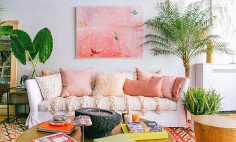 Ιδέες για να διακοσμήσετε το σπίτι σας σε ροζ τόνους