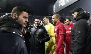ΠΑΟΚ-Ολυμπιακός: Αποχώρησαν οι δυο ομάδες από το γήπεδο