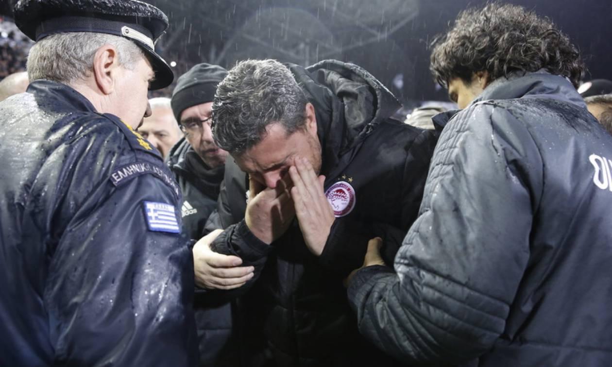 ΠΑΟΚ - Ολυμπιακός: Οίδημα άνω χείλους, αριστερά για τον Γκαρθία