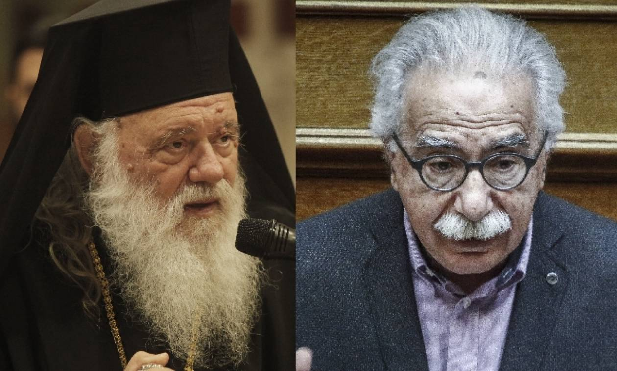 Ιερώνυμος σε Γαβρόγλου: Σταματήστε να επεμβαίνετε πραξικοπηματικά σε εσωτερικά θέματα της Εκκλησίας