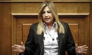 Γεννηματά: Η επιθετικότητα της Τουρκίας δεν αντιμετωπίζεται με ψευτοπαλικαρισμούς