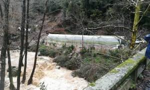 Εικόνες βιβλικής καταστροφής στο Πήλιο: Καταρρέουν πλαγιές – Αποκλείστηκαν χωριά