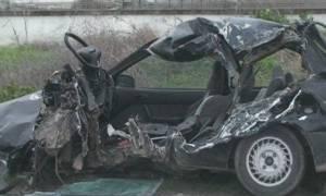 Φρικτό τροχαίο στη Λάρισα: Ένας νεκρός μετά από σφοδρή σύγκρουση φορτηγού με ΙΧ