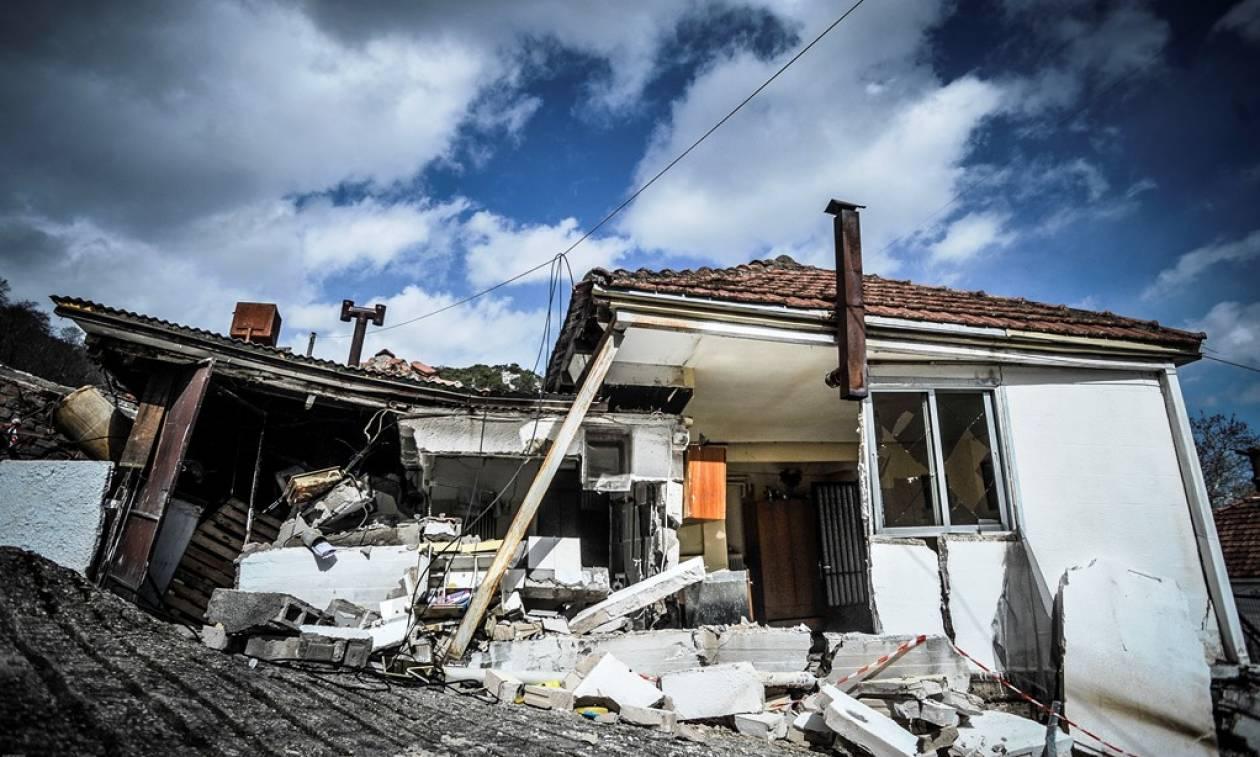Τρίκαλα: Εκτεταμένες καταστροφές από το κύμα κακοκαιρίας (pics)