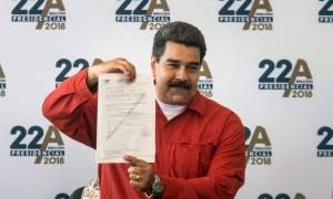 Βενεζουέλα: Yποψήφιος για νέα θητεία ο Μαδούρο