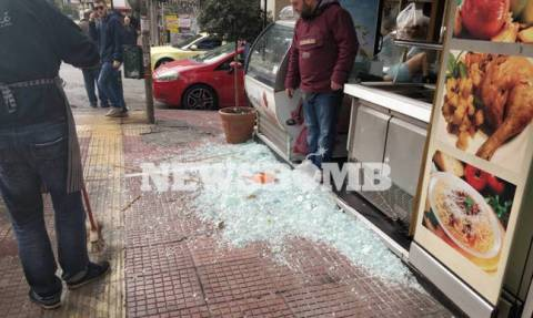 More shops targeted in vandalism spree in central Athens