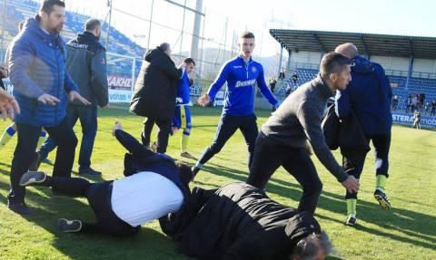 Επεισόδια στο Αστέρας Τρίπολης-ΠΑΟΚ  Πιάστηκαν στα χέρια  Καλτσάς-Κωνσταντινίδης! (photos d07f7c2f0d8
