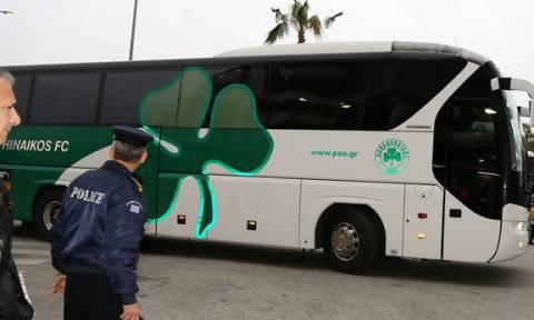 Ολυμπιακός - Παναθηναϊκός  Έφτασε στο Φάληρο το «τριφύλλι» 768b8f1710c