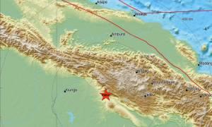Νέος ισχυρός σεισμός 6 Ρίχτερ συγκλόνισε την Παπούα Νέα Γουινέα με λίγες μόλις ώρες διαφορά