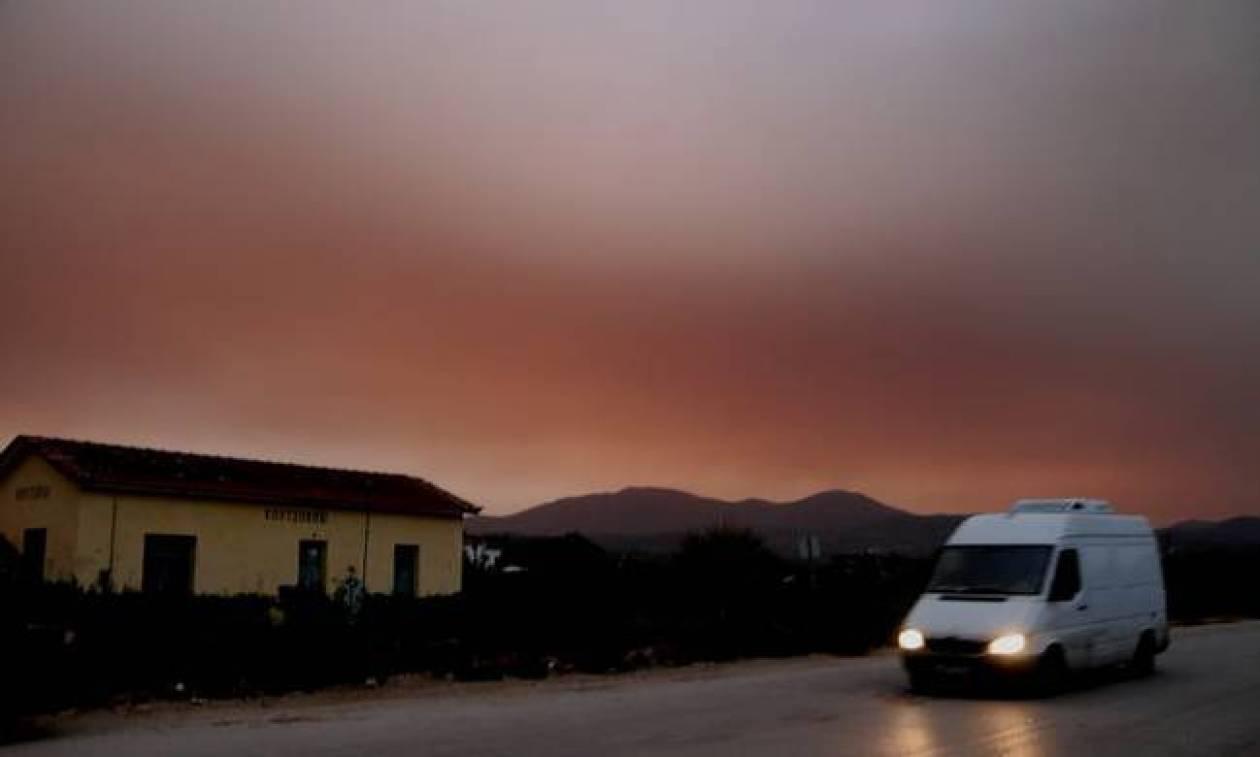 Καιρός τώρα: Με λασποβροχές, σκόνη από την Αφρική και υψηλές θερμοκρασίες η Δευτέρα (pics)