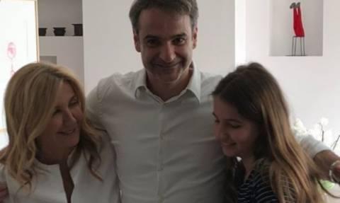 Πώς γιόρτασε τα γενέθλιά του ο Κυριάκος Μητσοτάκης