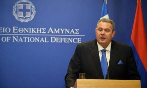 Arrest of Greek soldiers by Turkey an issue of concern for the EU, Kammenos says