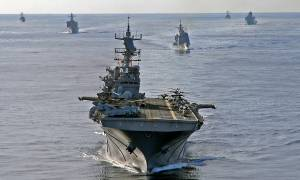 Νταηλίκια… τέλος! Αεροπλανοφόρο των ΗΠΑ, φρεγάτες και πεζοναύτες στην Κυπριακή ΑΟΖ