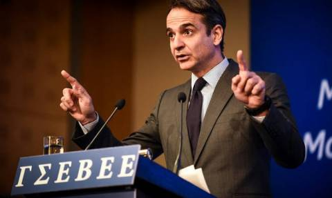 ND leader Mitsotakis promises comprehensive, bold settlement of private debt