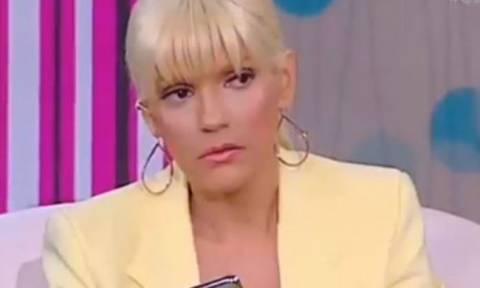 """Άλλη μία μαγική στιγμή της TV: Η Καινούργιου είπε τη Σταμάτη """"ηλίθια"""" στον αέρα της εκπομπής!"""