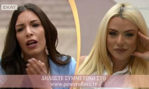 Power of love: Τα «πήρε» η Μαρίνα με την Στέλλα: «Δεν με ενδιαφέρει τι κάνεις. Δε θα λογοδοτήσω»