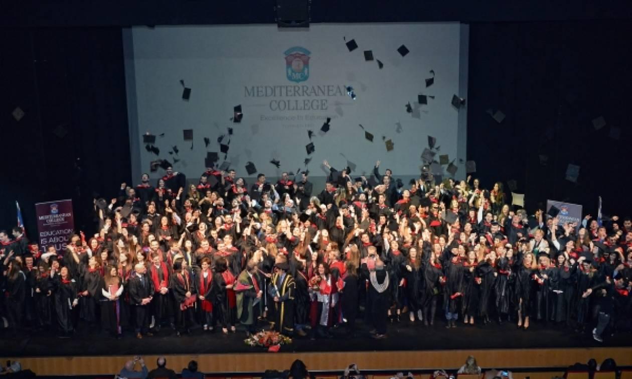 Mediterranean College: 38η Τελετή Αποφοίτησης με άρωμα δημιουργικής Ελλάδας!
