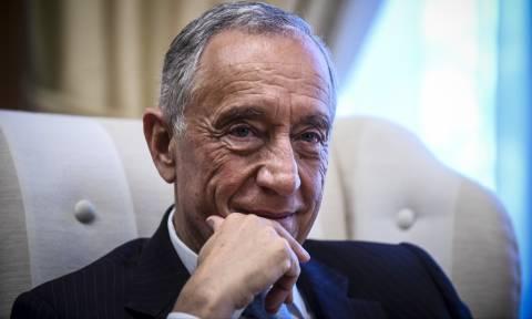 Portugal's President Marcelo Rebelo de Sousa begins visit to Greece