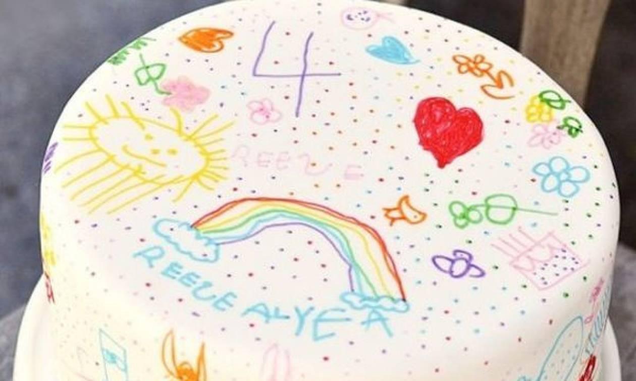 Δείτε πώς μπορείτε να σχεδιάσετε μια παιδική τούρτα (video)