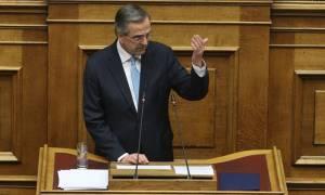 Σκάνδαλο Novartis: Στη Βουλή ιδιόχειρο σημείωμα που φέρεται να έδωσε ο Σαμαράς στον Φρουζή