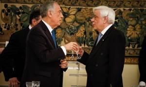 Πρόεδρος Πορτογαλίας: Είμαστε υπερήφανοι που βρισκόμαστε δίπλα στην Ελλάδα