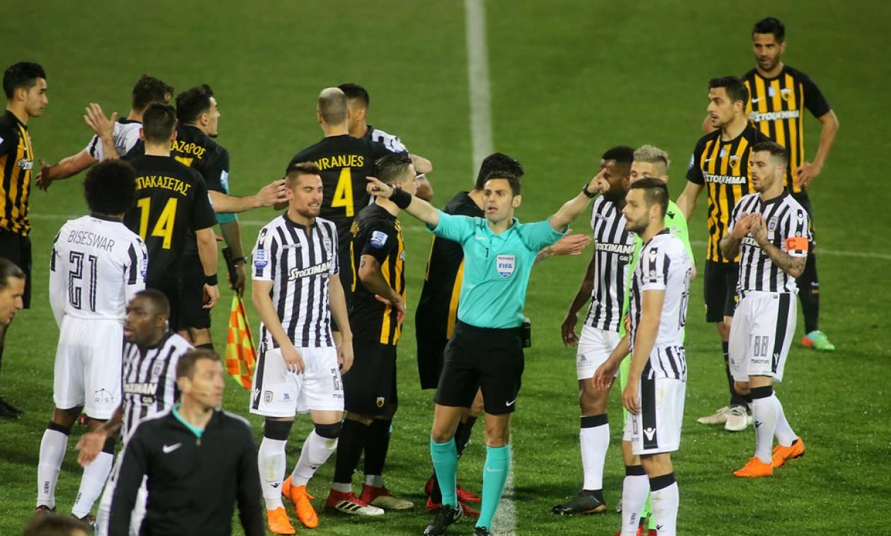 ΑΕΚ: Καταγγελία στον ποδοσφαιρικό Εισαγγελέα για Τούμπα