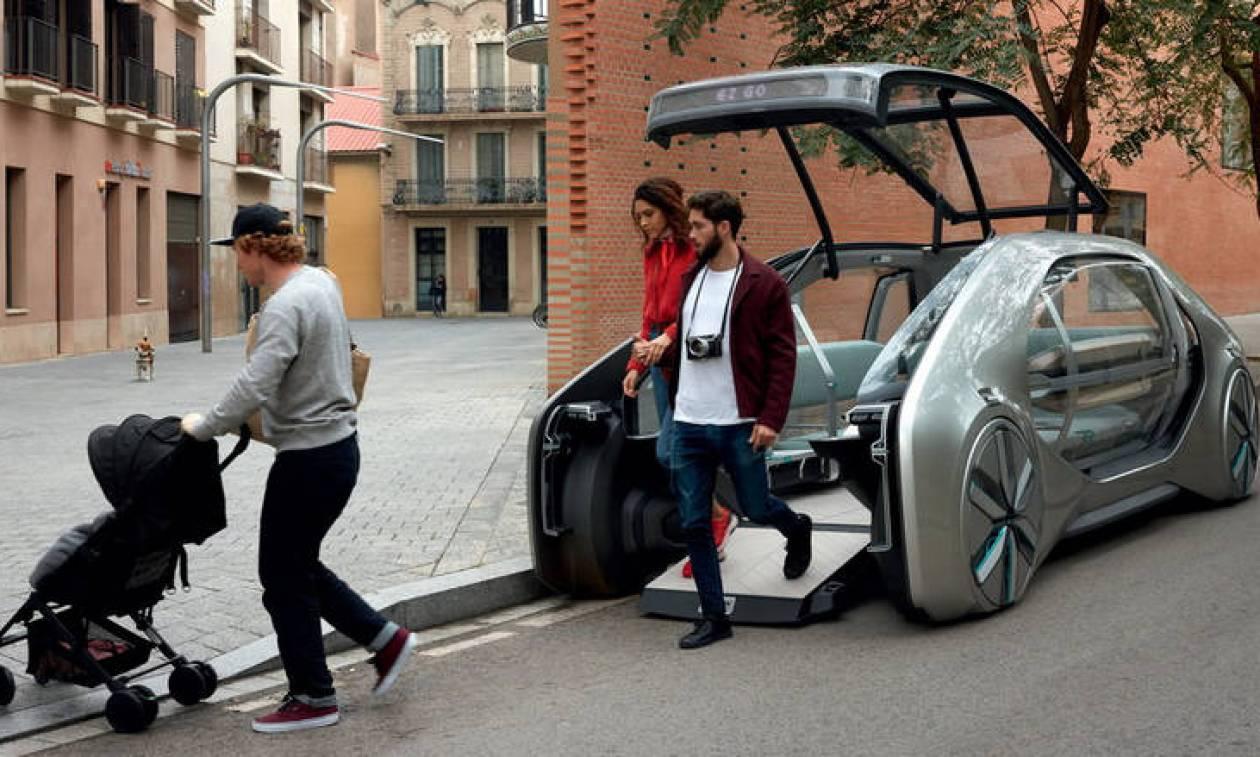 Το car sharing στο μέλλον θα γίνεται με οχήματα σαν το EZ-GO της Renault