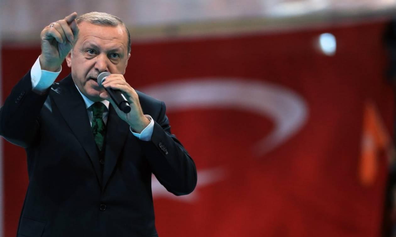Επίθεση Ερντογάν στην ΕΕ: «Στην Ελλάδα δώσατε 400 δισ. και σε εμάς γυρνάτε την πλάτη»