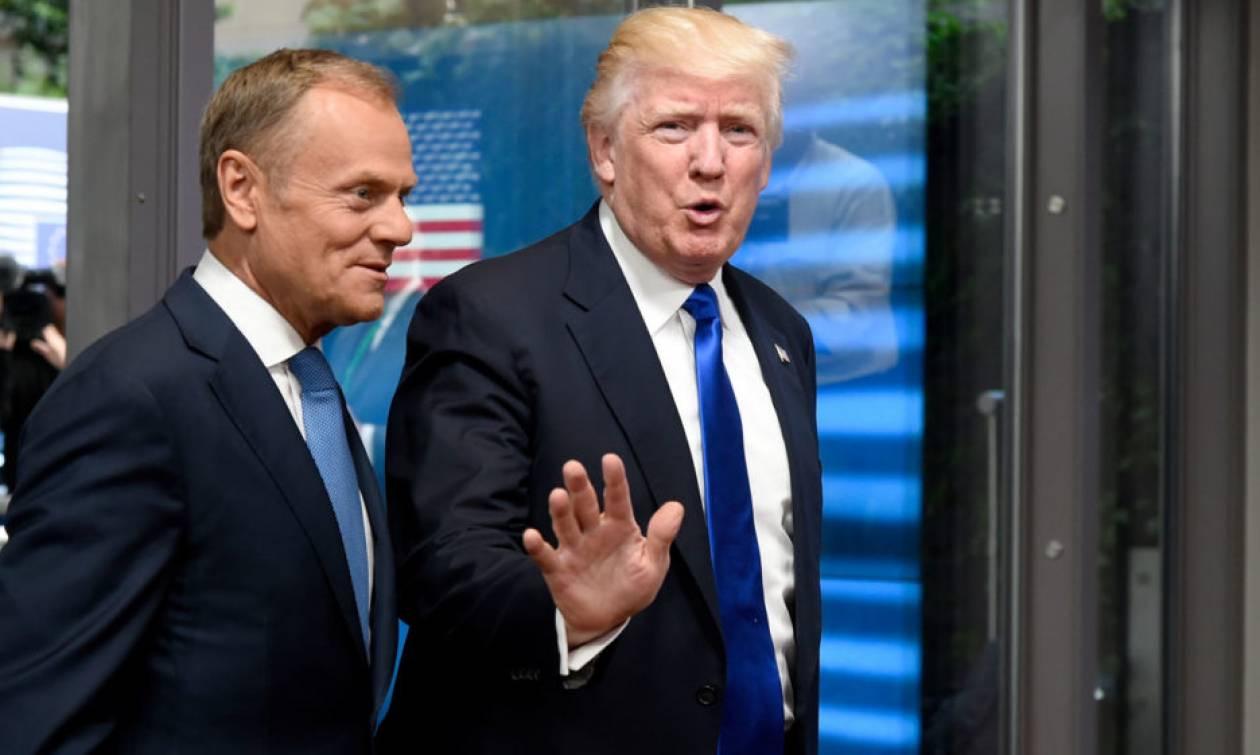 Τουσκ σε Τραμπ: Κάντε… εμπόριο, όχι πόλεμο!