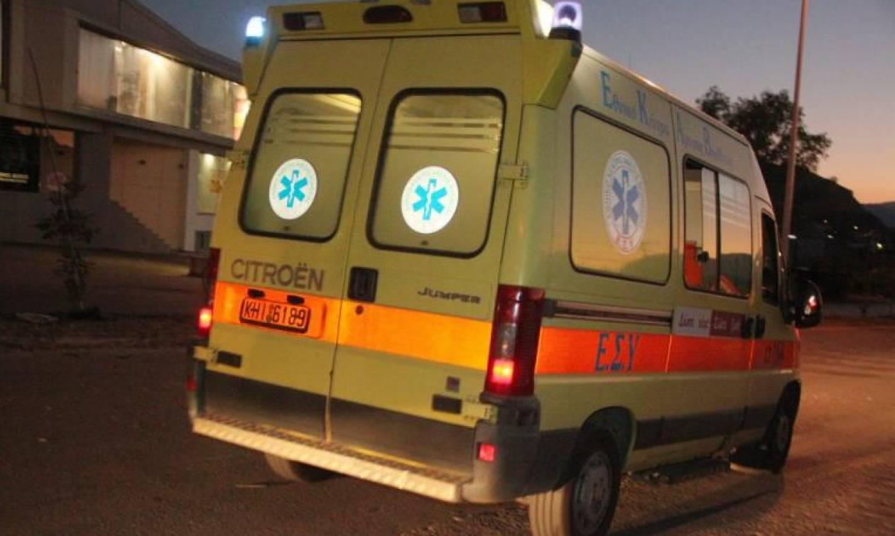 Σοβαρό τροχαίο στο Βόλο: Μηχανάκι παρέσυρε 10χρονο κοριτσάκι